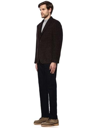 Beymen Collection Klasik Yün Ceket Bordo